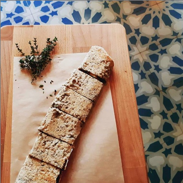 wrap tradicional libanés en makan