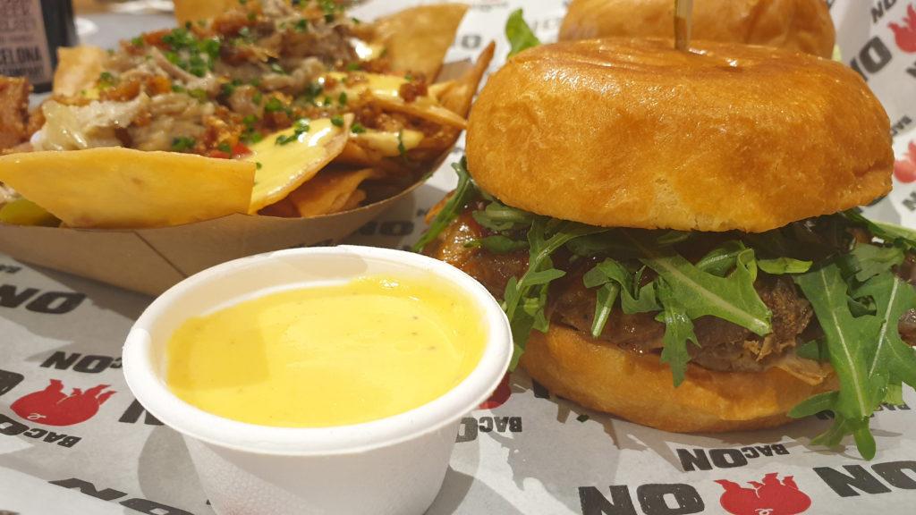 hamburguesa restaurante Bacon