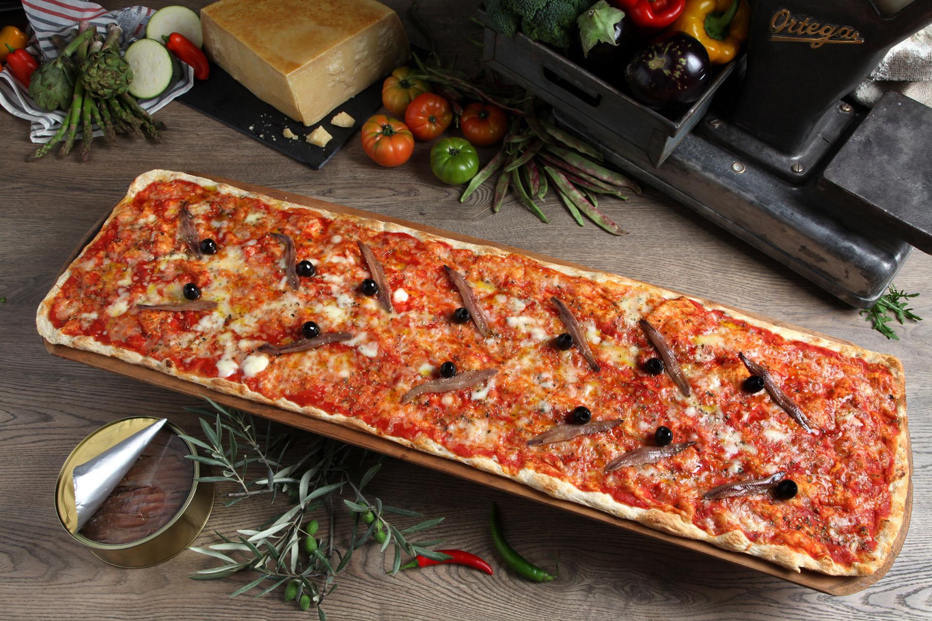 restaurante pizzería kilómetros de pizza