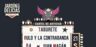 festival jardín delicias 2019