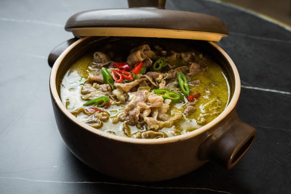 Cazuela de ternera con verduras, Hutong