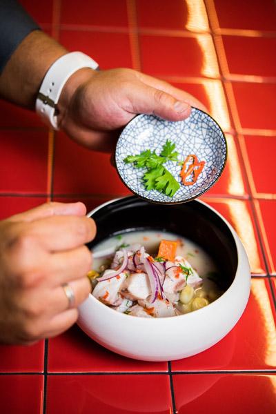Ceviche peruano 2 - Páru Inkas sushi & grill