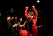 noches flamenco larios café