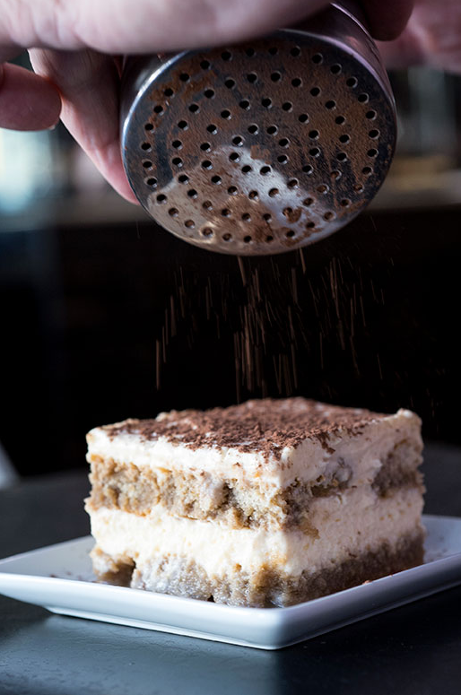 restaurante lasagna di patrizia tiramisu
