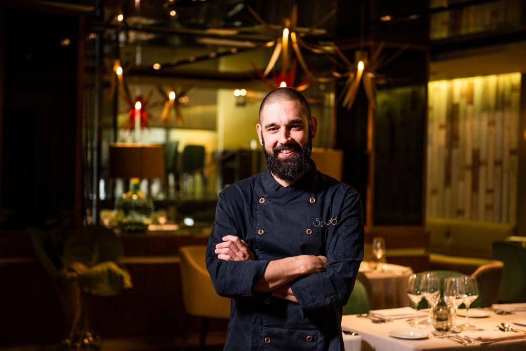 Isaac Fernández - Restaurante Sandó