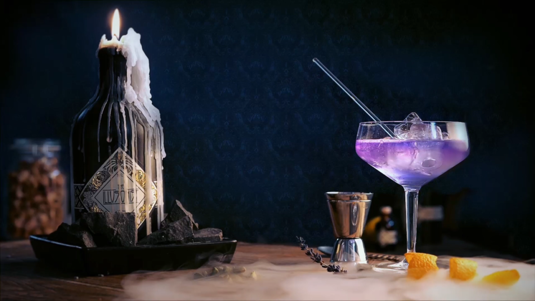 illusionist ginebra azul