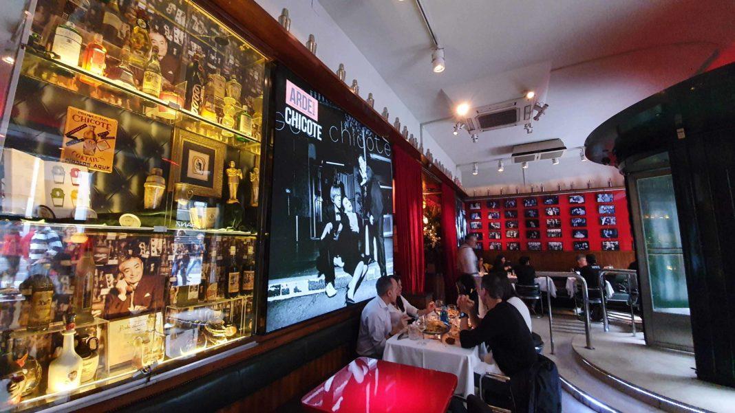 museo chicote restaurante madrid