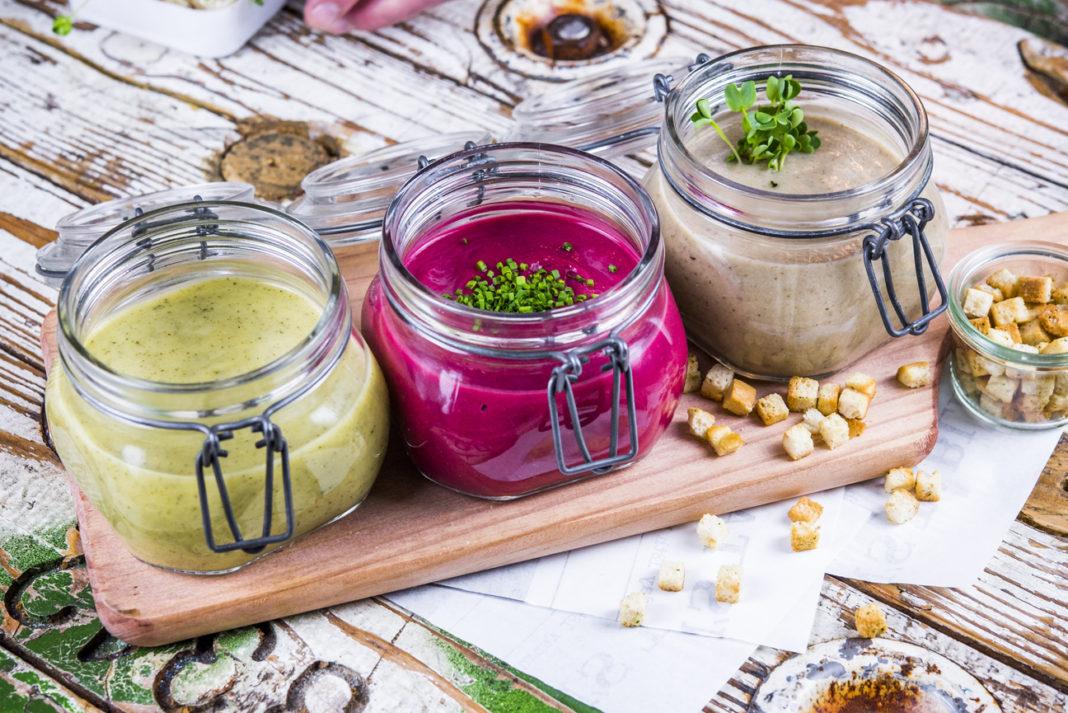 Cremas de verduras de Bendita Locura Coffee & Dreams