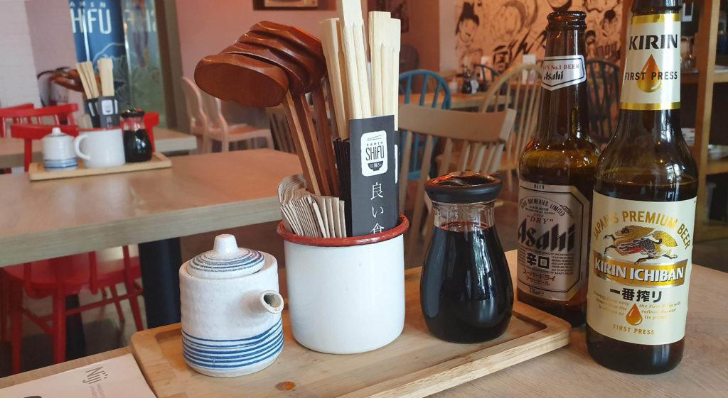 cervezas japonesas ramen shifu