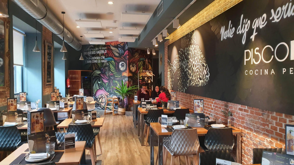 restaurante peruano piscomar