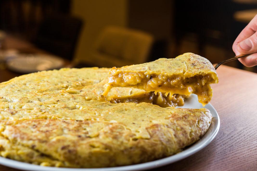 Tortilla de patatas madrid