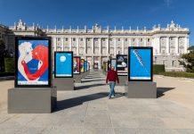 Madrid Gráfica 2020 tiene lugar la gran exposición abierta de carteles en la Central de Diseño de Matadero Madrid y otros enclaves como la Plaza de Oriente y la Plaza Juan Goytisolo