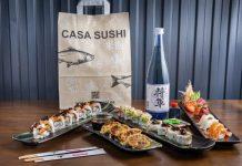 casa sushi navidades