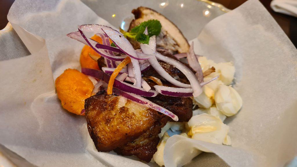 restaurante callao24 comida