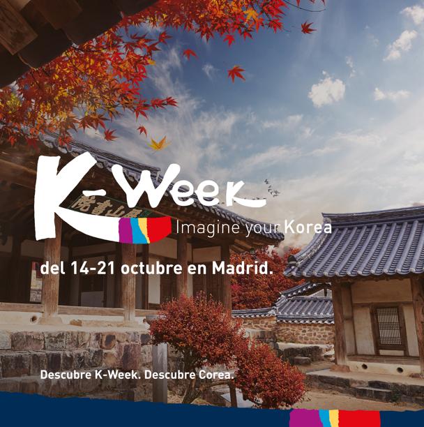 k-week korea madrid